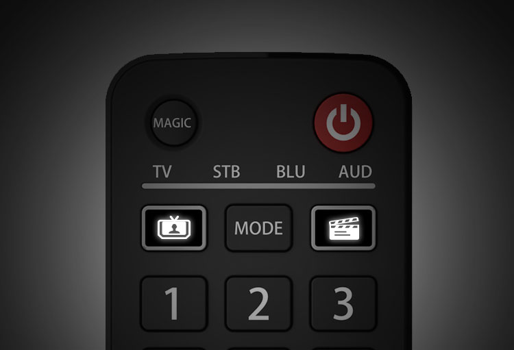 URC7145 Evolve 4 Remote